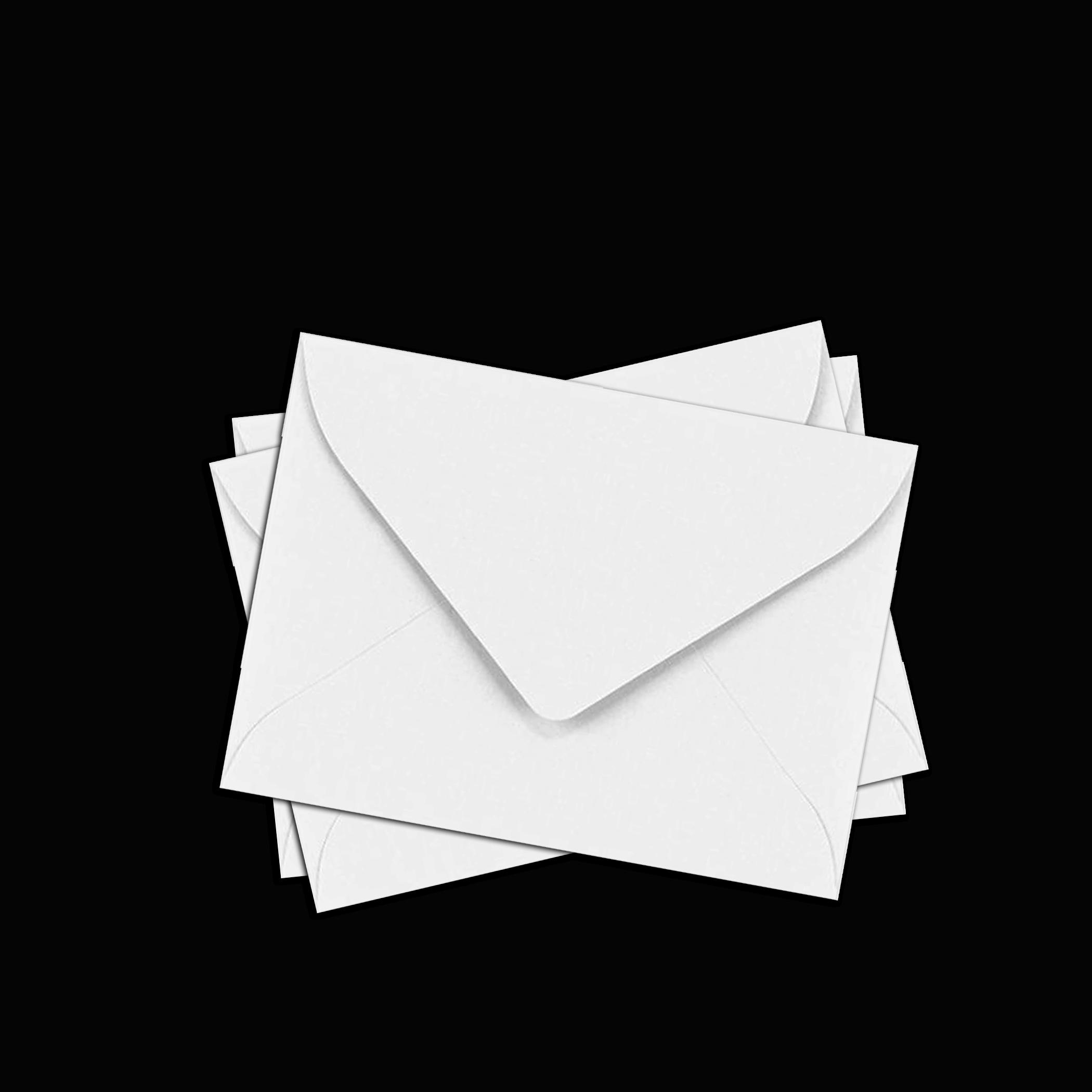 CARD-WHITE-ENVELOPES