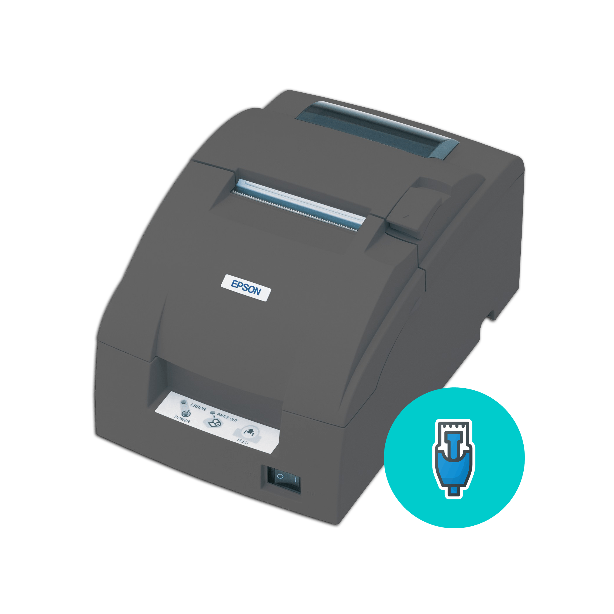 EPSON-TMU220B-ETHERNET-PRINTER