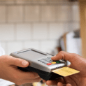 Credit card payment terminal transaction