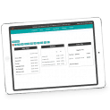 OrderCounter Hybrid Point of Sale Solutions remote office program on iPad