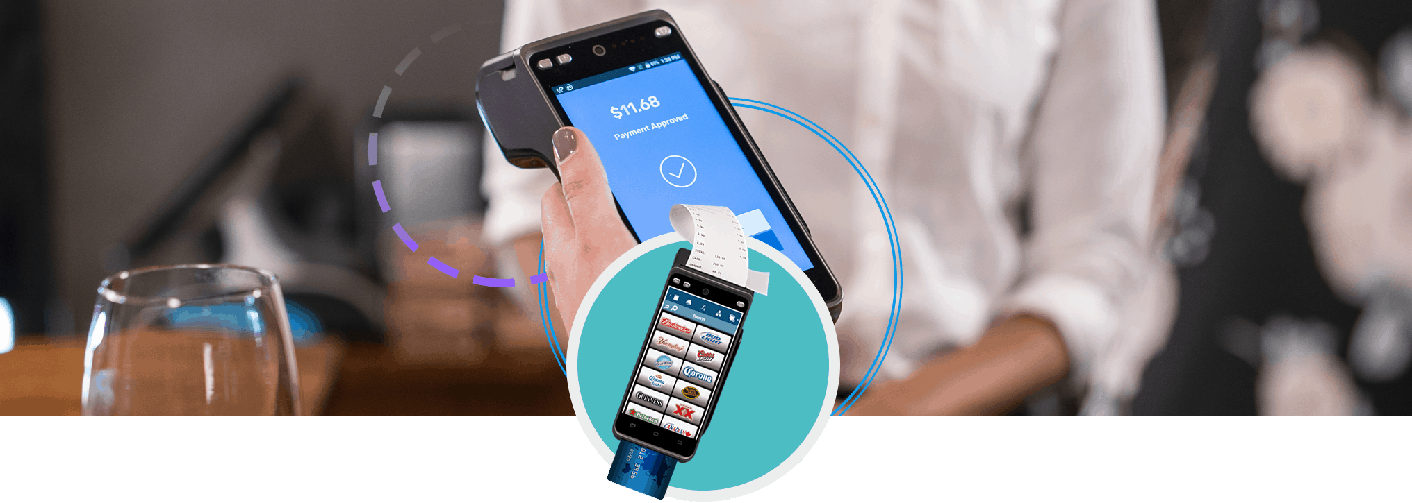 SkyTab™ tableside payment terminal