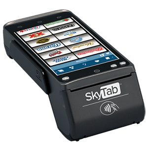 SkyTab pay-at-table terminal with FuturePOS